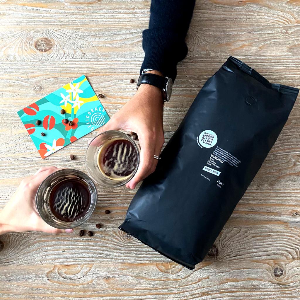 Montrer les bienfaits du café
